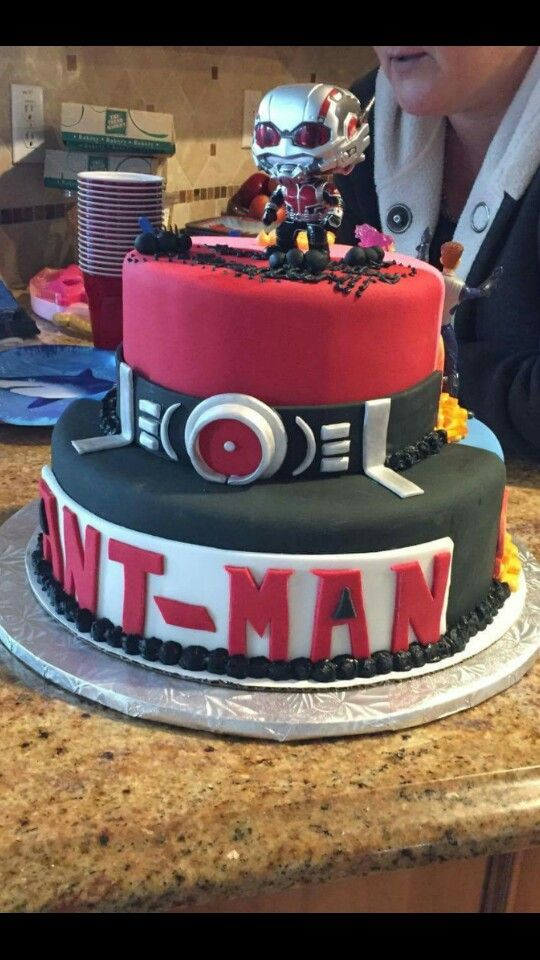 Antman Birthday Cake Paddycakes Cake Creations