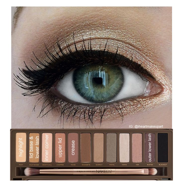 These are the only eyeshadows I use. Love them! Urban Decay Naked 2 tutorial