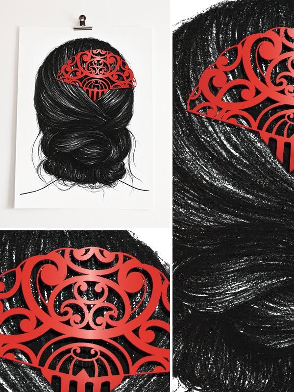 Heru Series: Heru 1 (Hair Comb)