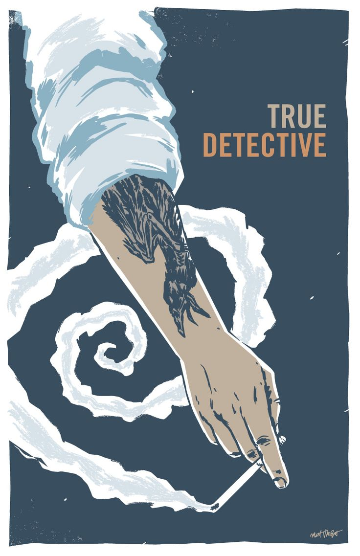 "Poster S01, Detective Rustin ""Rust"" Cohle"