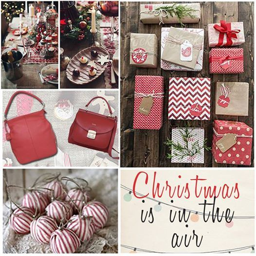Keeping the Christmas spirit alive with a big dash of red! Grab your dose of holiday spirit here: http://bit.ly/1EoxDNj