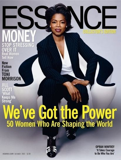 Oprah the power behind television.