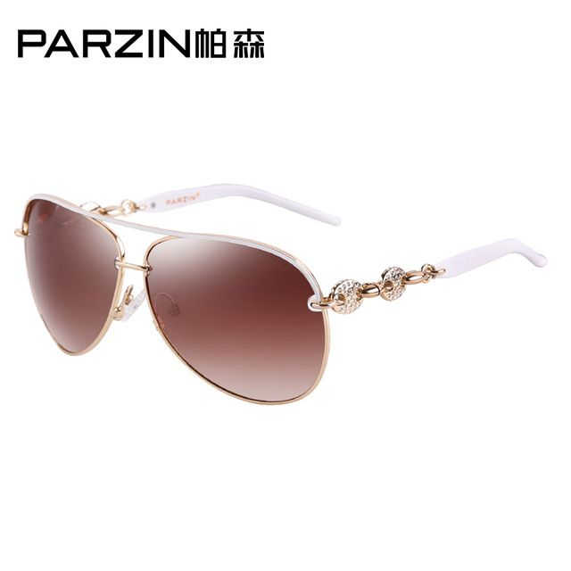 PARZIN 2017 Luxury Diamond Women Polarized Sunglasses, Mirror Vintage Steampunk //Price: $79.99 & FREE Shipping //     #hashtag3