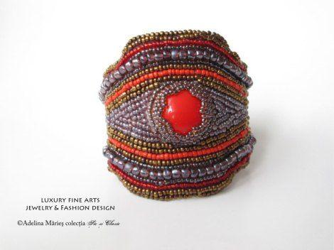 haute couture designer Adelina Maries http://sicsiclasic.wordpress.com bijuterii online Sic si Clasic