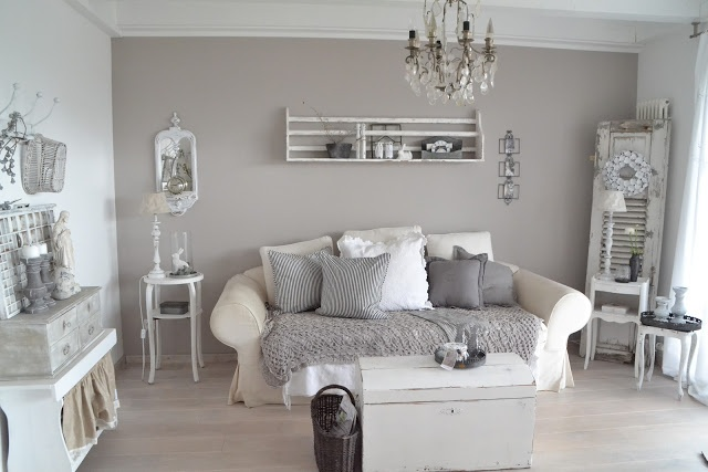 design : wohnzimmer shabby chic braun ~ inspirierende bilder von ...