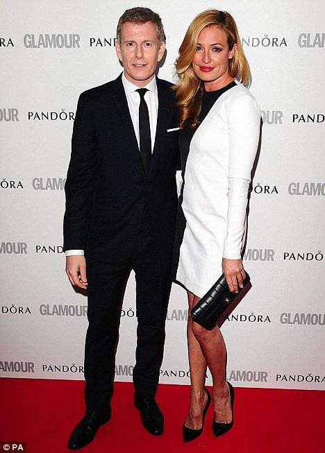 Going public: Cat Deeley and Patrick Kielty arrive at the 2012 Glamour Women of the Year Awards in Berkeley Square