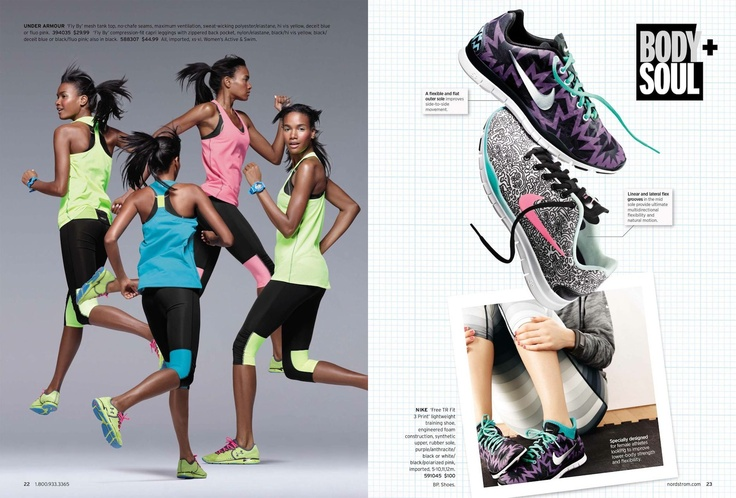 Nordstrom January 2013 Get Active Catalog