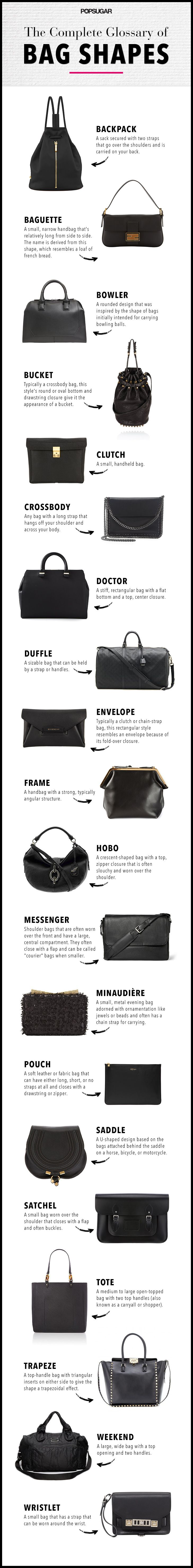 Your go-to guide for choosing the perfect bag shape for your otufit