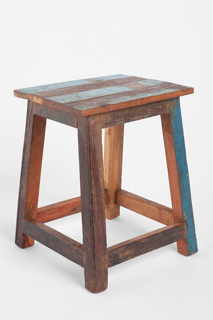 Stool Bedside Table: 80 Best Reclaimed Wood Style Images On Pinterest