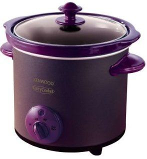 I believe my food would taste much better in this purple crock pot.