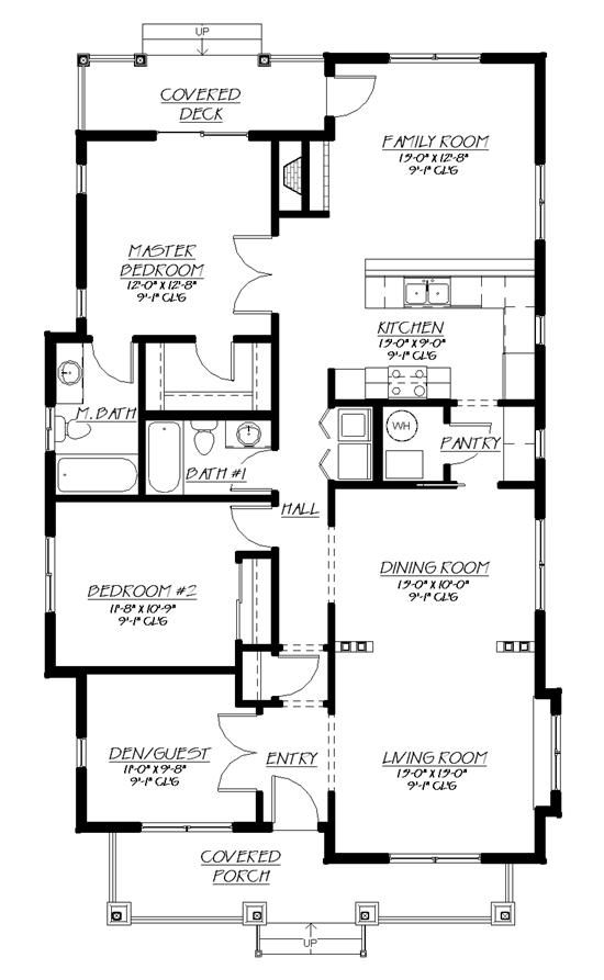 Great plan for north face on right hand side · small home planstiny house