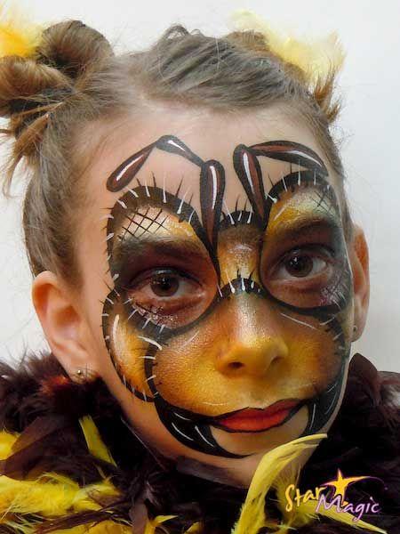 bij schminken stap voor stap  Face Painting .. schminken ..   bsafoto.com
