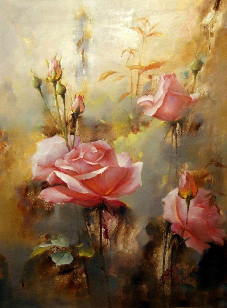живопись розы: 25 тыс изображений найдено в Яндекс.Картинках