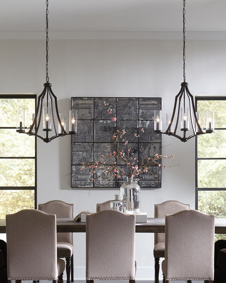 Transitional Chandeliers By Feiss Complete This Dining Room. See This  Chandelier At Https:/
