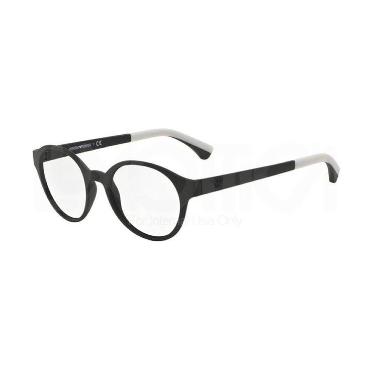 Occhiali da vista Emporio Armani 3066 5323. Occhiale da uomo, montatura completamente in celluloide di colore nero(black)con frontale tondo. Le aste sono in plastica di colore nero.   http://www.cheocchiali.com/prodotti/emporio-armani-3066-5323