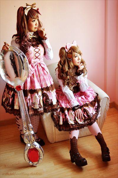 Lolita Angelic Pretty ♥ ロリータ, sweet lolita, fairy kei, decora, lolita, loli, gothic lolita, pastel goth, kawaii, fashion, victorian, rococo ♥