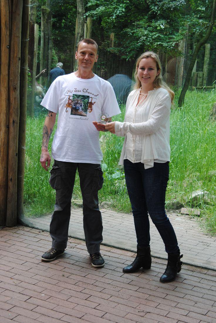 Overhandiging Award Dierenpark Amersfoort