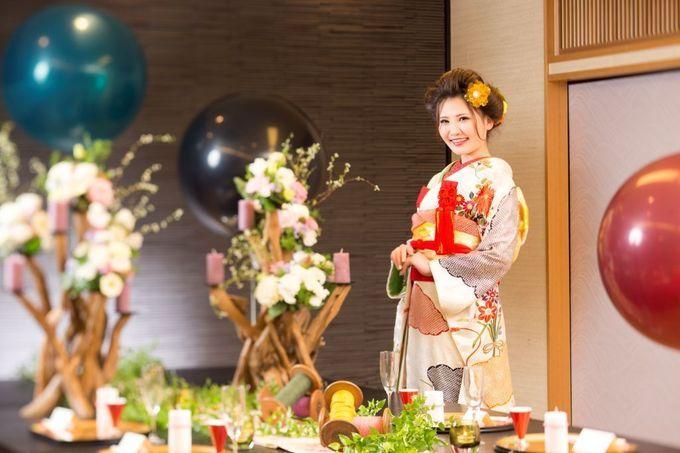 【福岡県久留米市 ホテルニュープラザKURUME・ウェディング】家族で楽しむ和婚