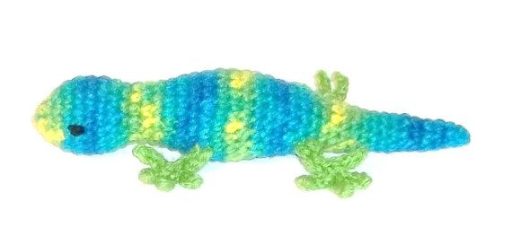 Cat Toy Catnip Tropical Lizard on Etsy, $5.99