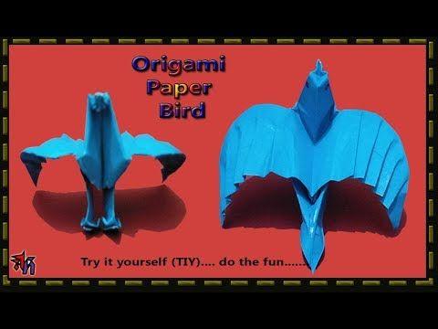 Very fine paper bird by Art House | How to make Paper bird DIY/TIY