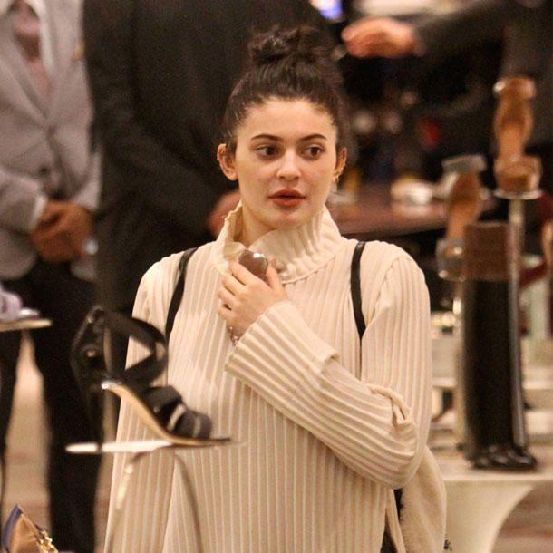 Stars ungeschminkt: Kylie Jenner ohne Make-up