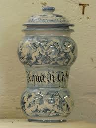 vaso farmacia - ceramica di Albisola - Liguria #essenzadiriviera.com #maiolica