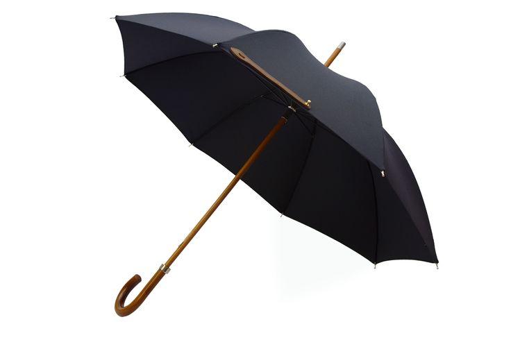 Leather City Lux Umbrella Gentlemans Umbrella Hand Made in London England