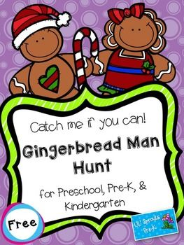I think my favorite activity of the year is the gingerbread hunt I do with my kids.  The look on their faces when we go down to the oven and discover that they have run off is priceless!  If you want to try it out with your class, download this freebie.