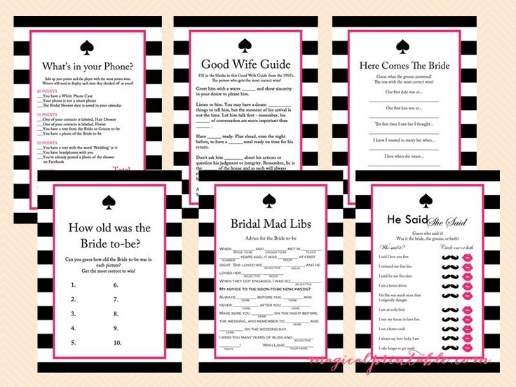 Kate Spade Inspired Bridal Shower - Bridal Shower Ideas - Themes