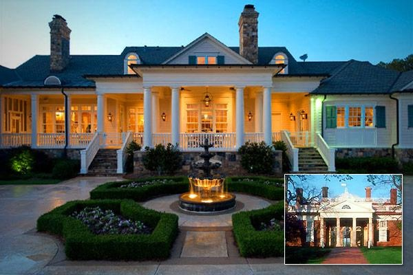 40 best images about america 39 s most beautiful homes on for Dream homes georgia