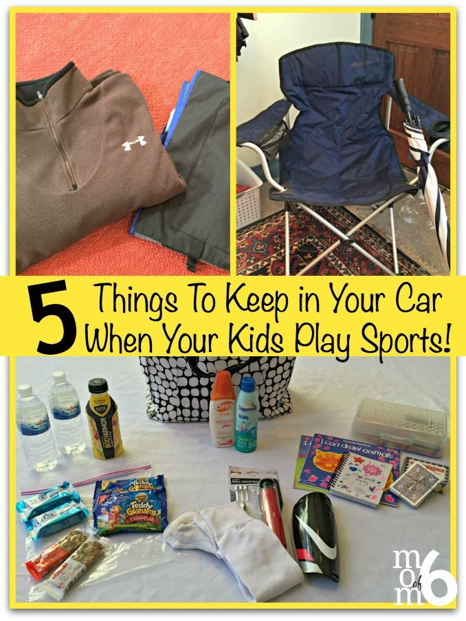 Car Wax Near Me >> 5 Things To Keep in Your Car When Your Kids Play Sports ...