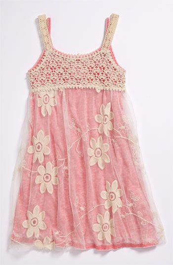 little girl's summer sundress