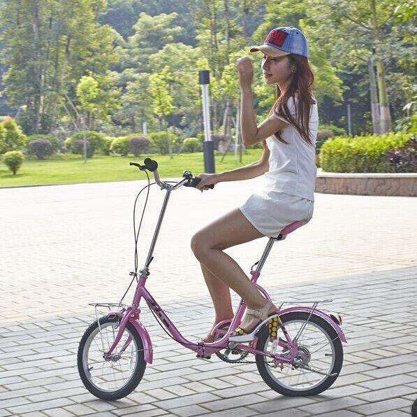 2014 Lightweight mini girl bike 16 inch folding bike