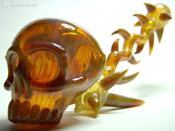 Daily Lazy: Unique glass pipes with evolving shapes and styles.
