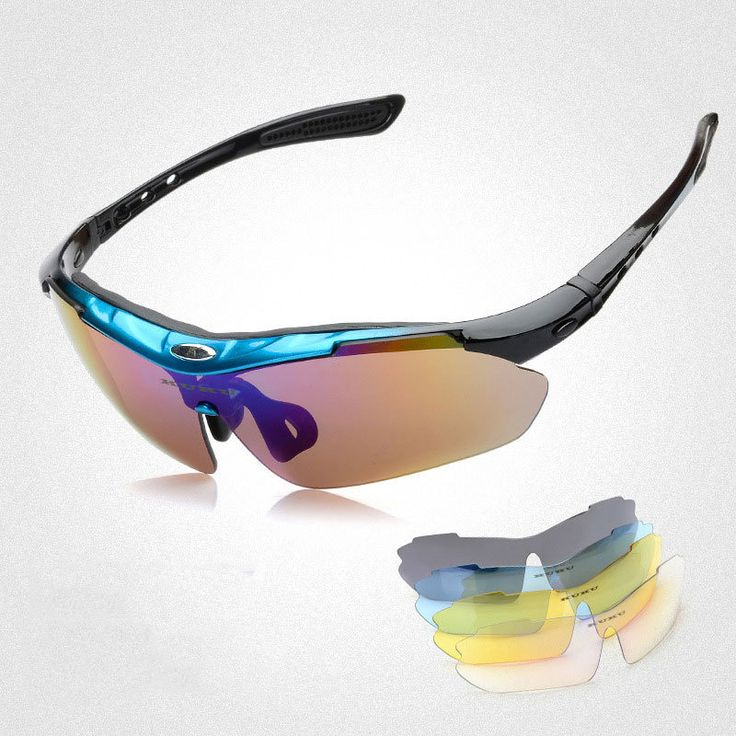 LumiParty 4Colors Cycling SunGlasses Mountain Bike Goggles/5 Lens Cycling Eyewear Cycling Glasses Men/Women Oculos Ciclismo