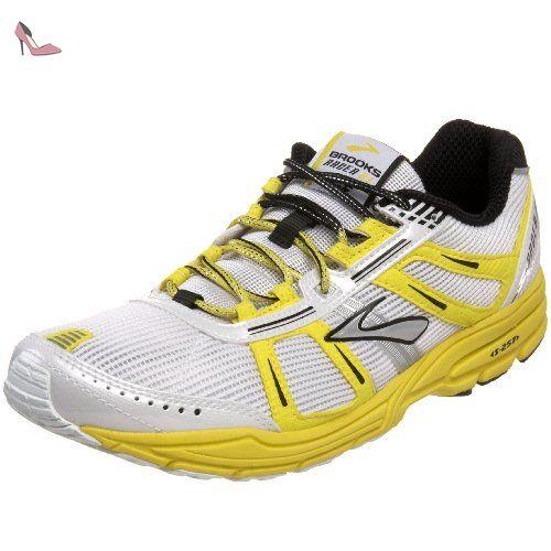 Brooks PureFlow 5, Chaussures de Running Compétition Homme, Jaune (Blau/Gelb), 40.5 EU