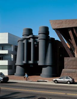 Binoculars     Central component of Chiat/Day Inc. building designed by Frank O. Gehry & Associates, Inc.,