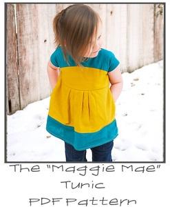 """Maggie Mae"" Tunic Pattern"