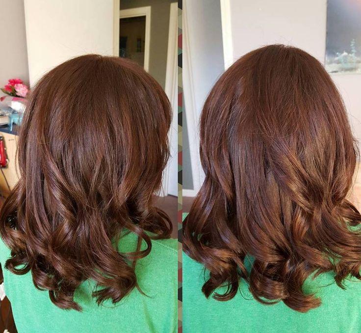 awesome Красивый шоколадный цвет волос (50 фото) — Темные и светлые оттенки