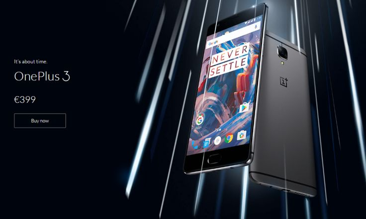 OnePlus 3 comes with an Snapdragon 820, 6GB RAM
