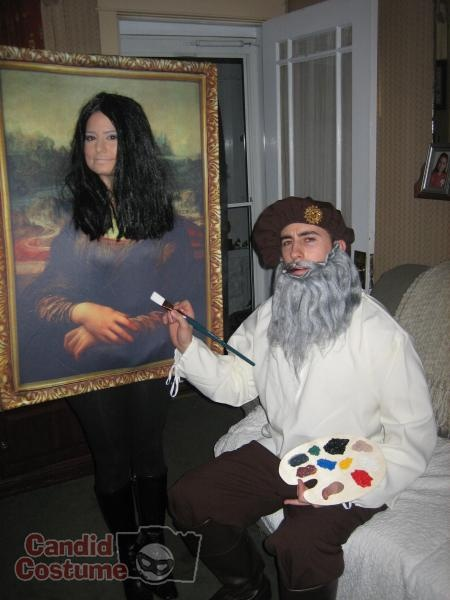 DaVinci and Mona Lisa Costume | CandidCostume.com ...