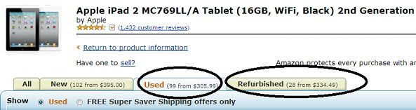 7 sites to buy cheap refurbished used iPad #cheap #cds http://cheap.remmont.com/7-sites-to-buy-cheap-refurbished-used-ipad-cheap-cds/  #cheap ipads # 7 sites to buy cheap refurbished used iPad/iPad mini If you buy used or refurbished iPad or iPad Mini, You can save money. You will get them cheap compared to buying brand new or latest gadgets. If you change your gadgets very often or buy newest gadgets every year, You can save…