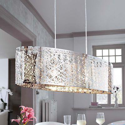Deckenleuchte Aus Metall Und Kristall Lampe Deckenlampe Esstischlampe Wohnzimmer