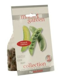 £1.00  -Market Garden Collection Vegetable Bulbs Pea Early Onwards  Dark green with excellent flavour. 75g.