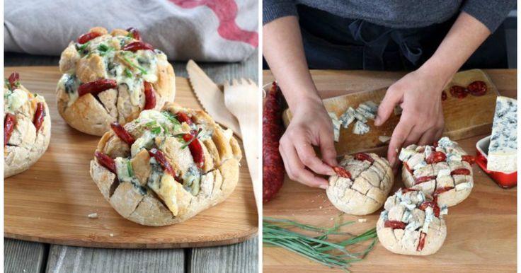 Diese kleinen Brötchen sind ruckzuck belegt und eignen sich perfekt als Fingerfood oder zum Picknick!