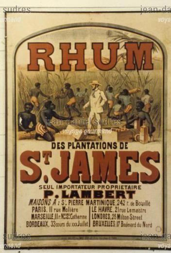 Vieille affiche - Musée du Rhum de la distillerie Saint James à (MTQ-0037.jpg)
