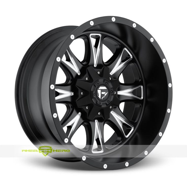 Fuel Throttle D513 Black Milled Wheels For Sale & Fuel Throttle D513 Rims And Tires