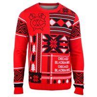 Chicago Blackhawks NHL 2015 Patches Ugly Crewneck Sweater: Represent your Chicago… #nhl #nfl #mlb #nba #sportsjerseys #sportsapparel