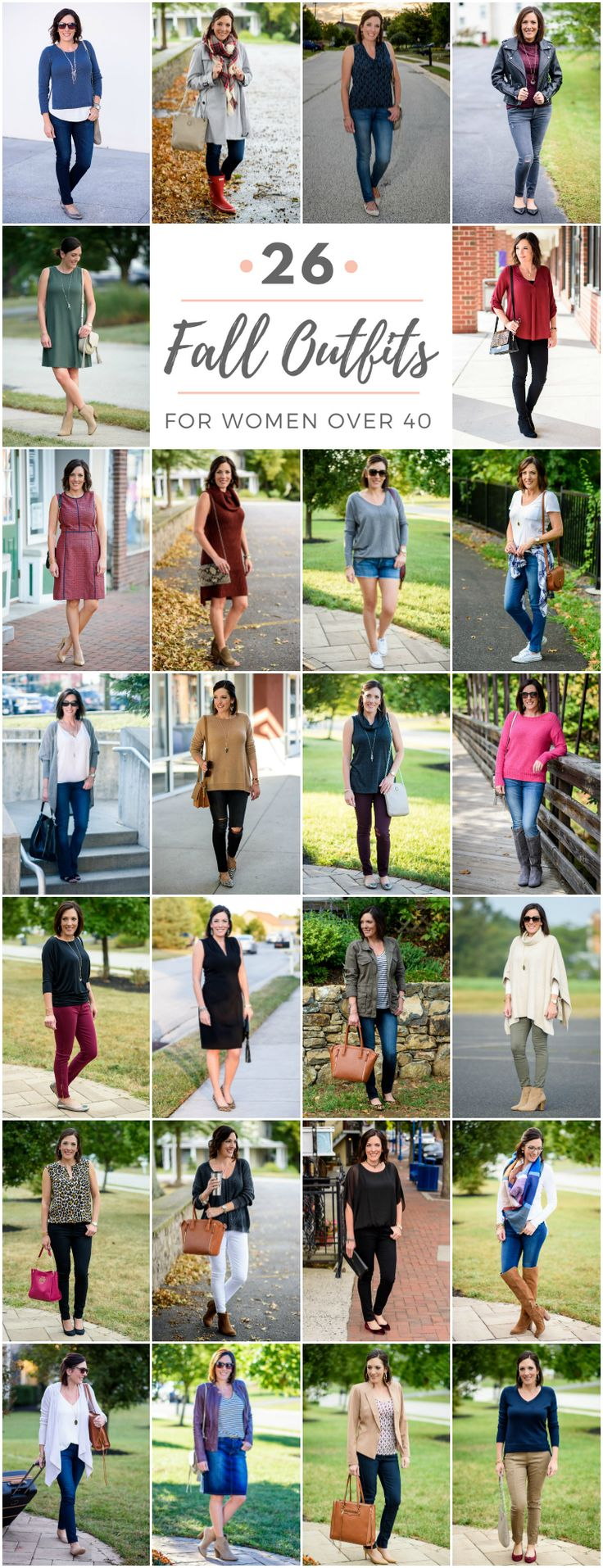 26 Wearable Fall Outfits for Women Over 40: Style for Real Life
