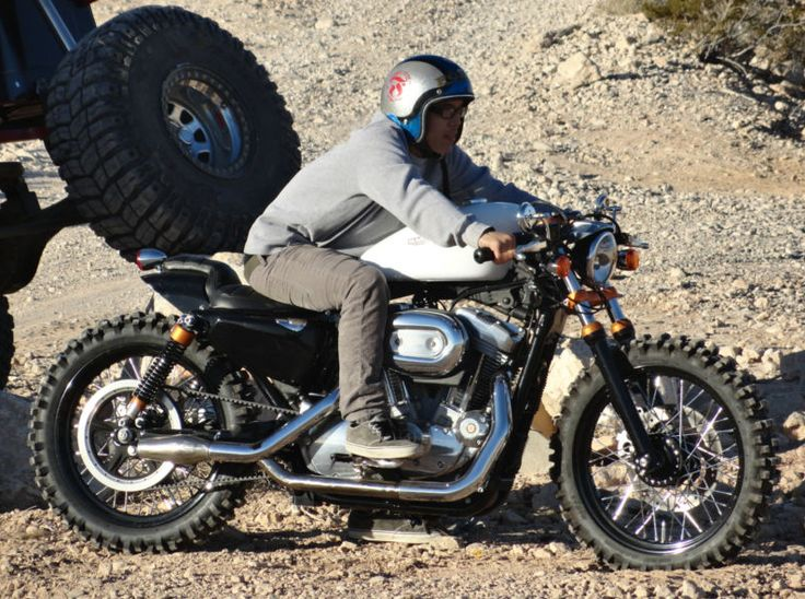 Aggressive Off Road Style 2007 Harley Davidson Sportster
